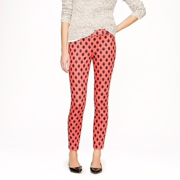 J. Crew Pants - J. Crew Minnie Pant in Medallion Print